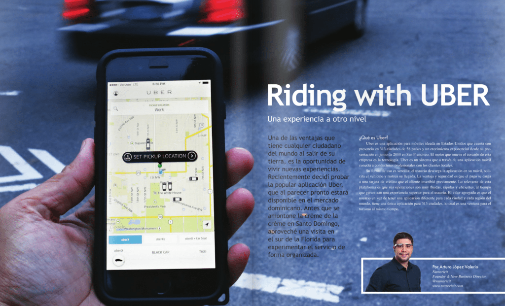 Riding with UBER