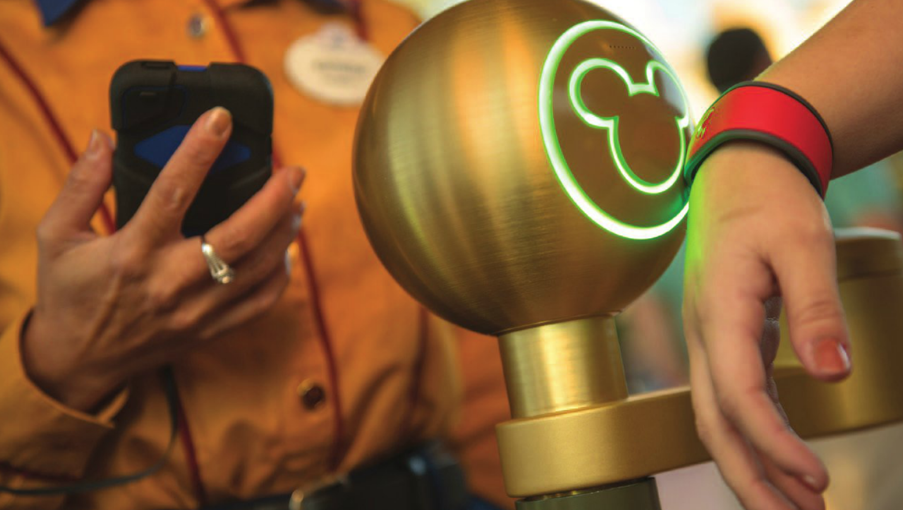 Disney Magic Bands y las tecnologías de aproximación