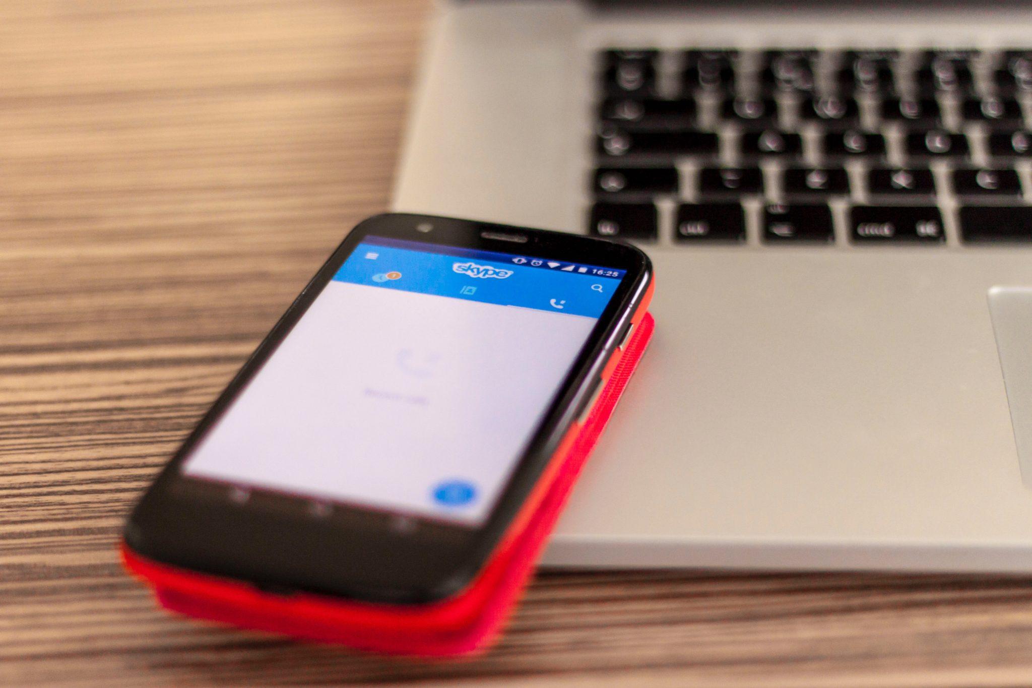 Skype puede capturar tu Huella digital