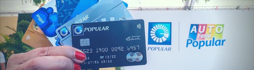 Tarjetas sin contacto Banco Popular Dominicano