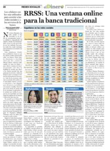 Redes Sociales una ventana para la banca tradicional