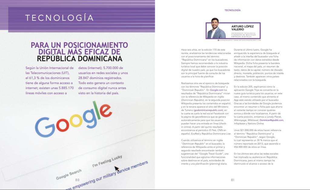 Posicionamiento digital más eficaz de República Dominicana